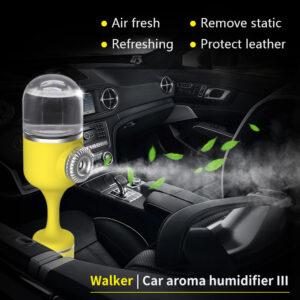 Car Oil Diffuser – Aromatic Glass Dome