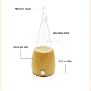 Glass Tear Drop Oil Diffuser