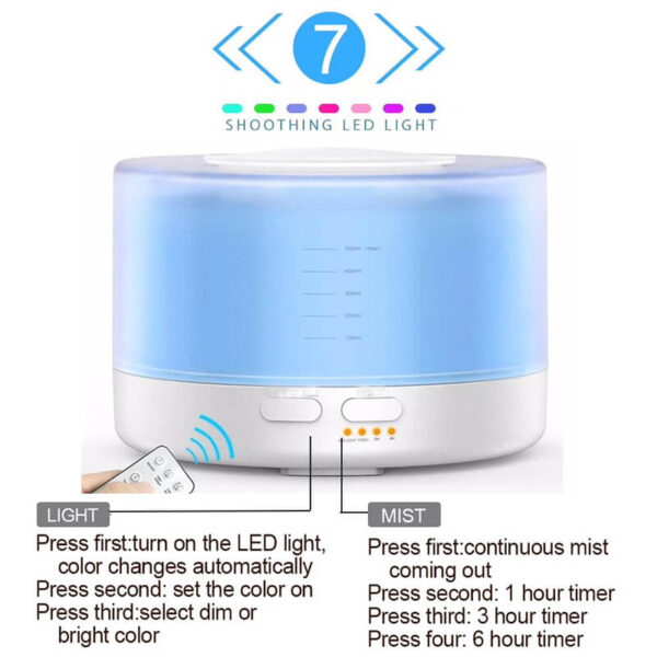 Modern Electric Oil Diffuser