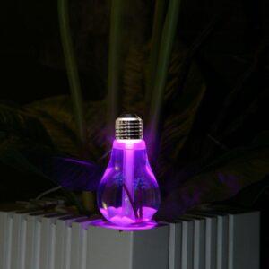 Colorful Light Bulb Essential Oil Diffuser