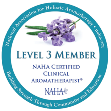 NAHA Clinical aromatherapist logo