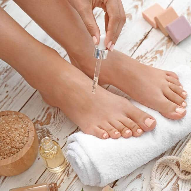 Essential Oils To Put On Your Feet